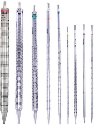 Picture of CS(400/cs) - PD-10W - 10 x 0.1 mm Bulk-Packed Disposable Sterile Plugged Plastic Wide-Tip Pipets (PD10W)