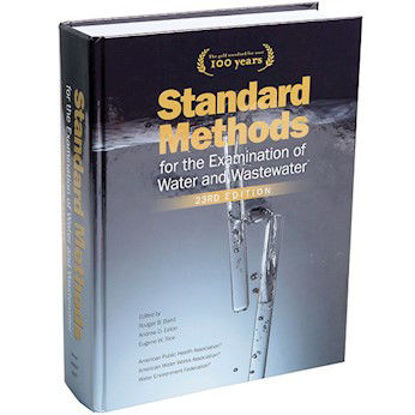 Picture of EA - BK-23 - Standard Methods for the Examination of Water and Wastewater, 23rd Ed (BK23)