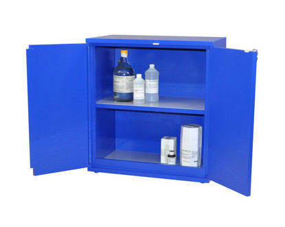 Picture of EA - SC-808 - Floor Partially-Lined Acid Storage Cabinet w/o Top Tray and Toe Space (SC808)