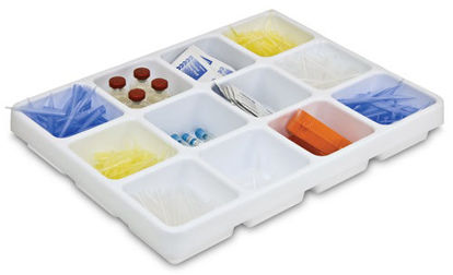 "Picture of EA - LC-055 - Pipet Drawer Organizer, 17"" x 2.5"" x 13"" (LC055)"