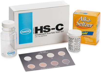 Picture of PK(100/pk) - H-25377-33 - Hydrogen Sulfide Test Strips (H2537733)