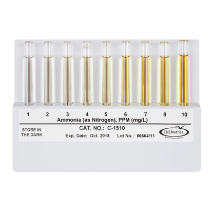 Picture of EA - CC-1510 - Comparator: Ammonia, 1-10 ppm (CC1510)
