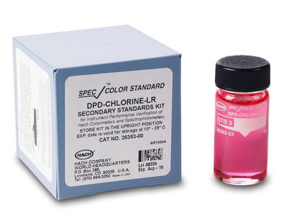 Picture of EA - H-26353-00 - DPD, Chlorine, SpecCheck Secondary Standards Set, 0-2 mg/l (H2635300)
