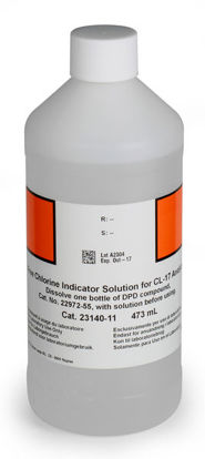Picture of 473 ml - H-23140-11 - Chlorine, Free, Indicator Solution (H2314011)