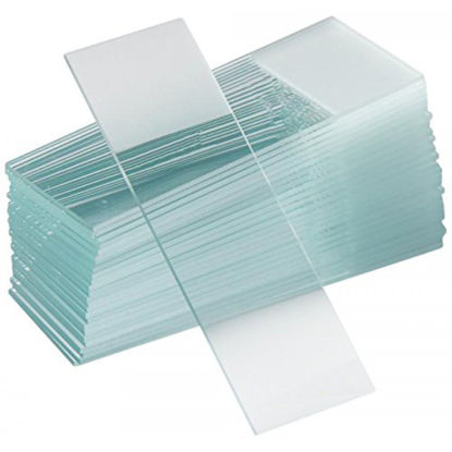 """Picture of M-201F - One End Frosted Glass Microscope Slides, 3"""" x 1"""" (M201F)"""