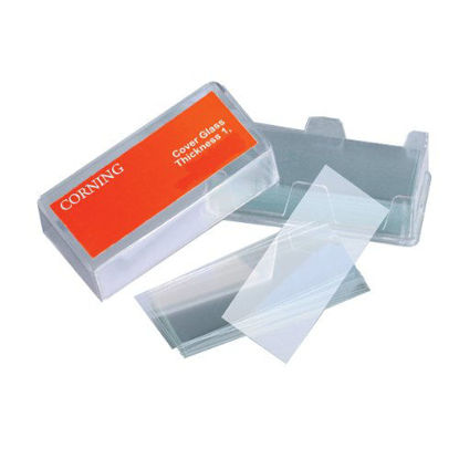 Picture of M-211 - No. 1 Glass Slide Covers, 22 mm x 22 mm (M211)
