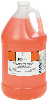 Picture of H-22834-56 - pH Buffer Solution, pH 4.01, 4 Liter, Red-Coded (H2283456)