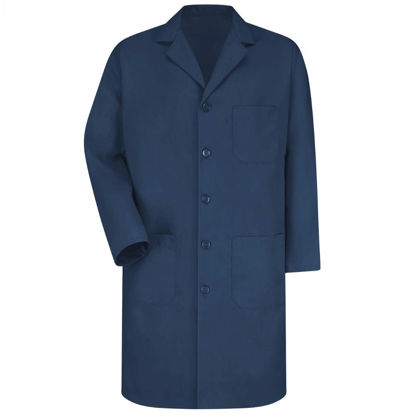 Picture of EA - LCN-S - Lab Coat, Navy Blue, Size S (LCNS)