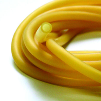 "Picture of TA-114A - Amber Latex Tubing, ⁵⁄₁₆"" ID x ³⁄₃₂"" Wall (TA114A)"