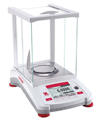 Picture of EA - AX-224E - Ohaus Adventurer Analytical Balance w/o AutoCal, 220 g x 0.1 mg (AX224E)