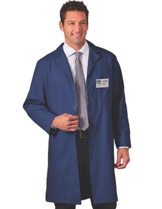 Picture of EA - LCN-XL - Lab Coat, Navy Blue, Size XL (LCNXL)
