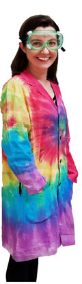 Picture of EA - LCT-2XL - Lab Coat, Tie-Dyed, Size 2XL (LCT2XL)