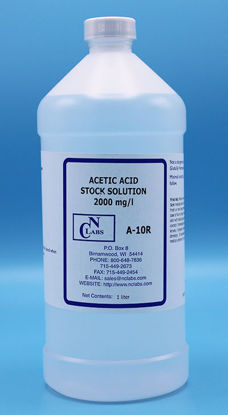 Picture of LTR - A-10R - Acetic Acid, Stock Solution, 2000 mg/l (A10R)