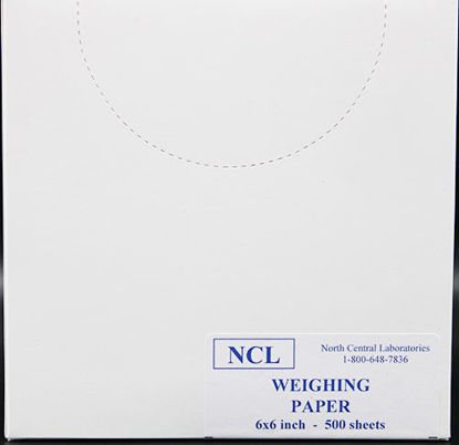 "Picture of PK(500/pk) - BV-266 - 6"" x 6"" Weighing Paper (BV266)"