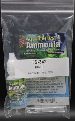 Picture of PK(10/pk) - TS-342 - Ammonia Test Strips, 0.2-4 ppm (TS342)