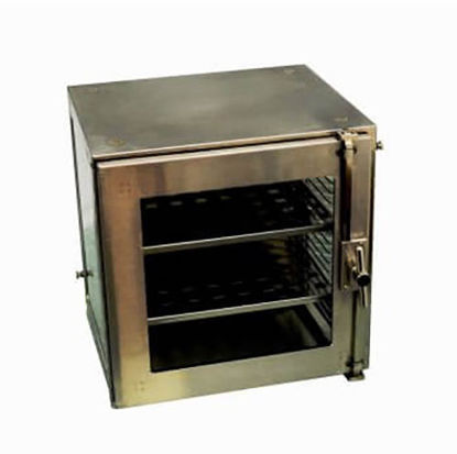 "Picture of EA - DB-1342 - Small Metal Desiccator Cabinet w/ 2 Stainless Steel Shelves, 12½"" x 12¼"" x 12¼"" (DB1342)"