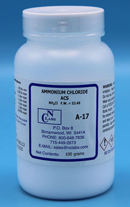 Picture of A-17 - Ammonium Chloride, ACS (A17)