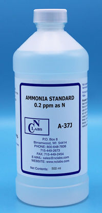 Picture of A-37J - Ammonia Standard, 0.2 ppm as N (A37J)