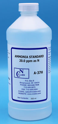 Picture of A-37H - Ammonia Standard, 20.0 ppm as N (A37H)