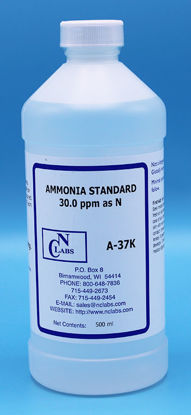 Picture of A-37K - Ammonia Standard, 30 ppm as N (A37K)