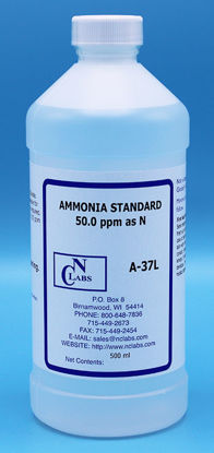 Picture of A-37L - Ammonia Standard, 50 ppm as N (A37L)