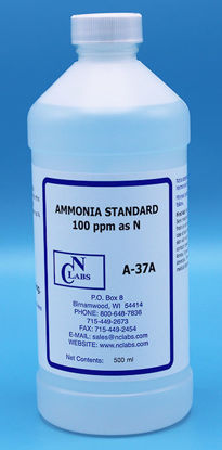 Picture of A-37A - Ammonia Standard, 100 ppm as N (A37A)