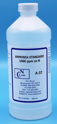 Picture of A-37 - Ammonia Standard, 1000 ppm as N (A37)