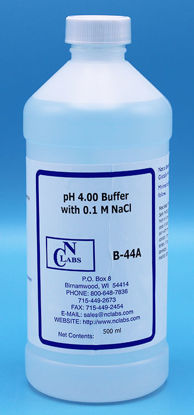 Picture of B-44A - Ammonia ISE pH Buffer Solution, pH 4.00, w/ 0.1 M NaCl, 500 ml(B44A)