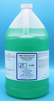 Picture of B-46D - pH Buffer Solution, pH 6.87, Green-Coded (B46D)