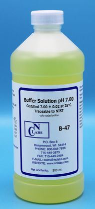 Picture of B-47 - pH Buffer Solution, pH 7.00, Yellow-Coded (B47)