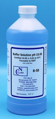 Picture of B-50 - pH Buffer Solution, pH 10.00, Blue-Coded (B50)