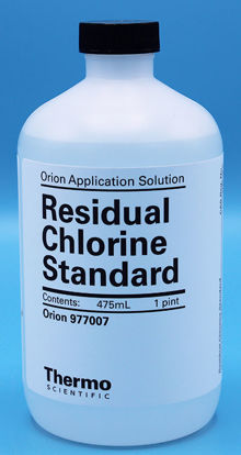 Picture of 475 ml - O-977007 - Chlorine Standard, 100 ppm as Cl₂, for Use w/ Chlorine ISE (O977007)