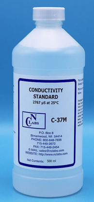 Picture of C-37M - 2,767 µ℧/cm NCL Conductivity Standard, 0.02 M KCl (C37M)