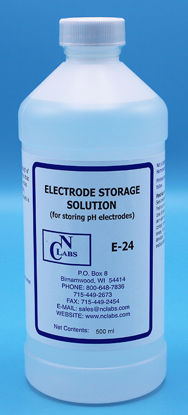 Picture of 500 ml - E-24 - pH Electrode Storage Solution (E24)