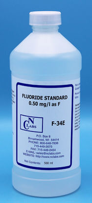 Picture of F-34E - Fluoride Standard, 0.50 mg/l (F34E)