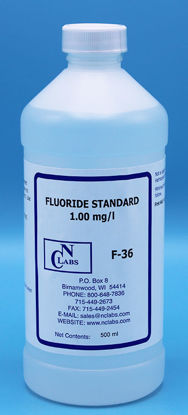 Picture of F-36 - Fluoride Standard, 1.00 mg/l (F36)