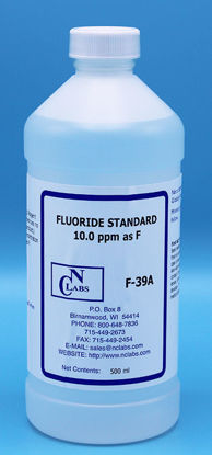 Picture of F-39A - Fluoride Standard, 10.0 ppm (F39A)
