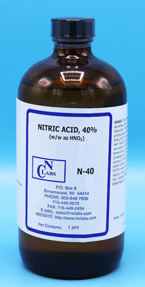 Picture of N-40 - Nitric Acid, 40% (w/w as HNO₃) (N40)