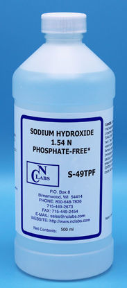Picture of S-49TPF - Sodium Hydroxide, 1.54 N, Certified Phosphate-Free (S49TPF)
