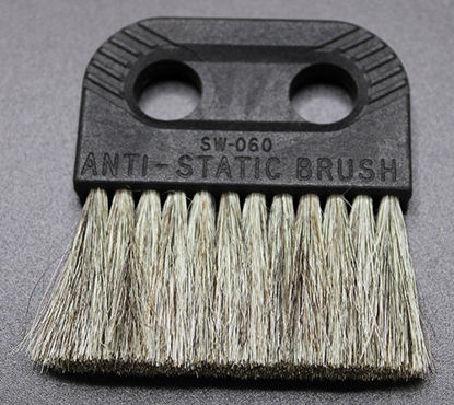 "Picture of EA - B-269 - Goat-Hair Anti-Static Balance Cleaning Brush, 2½"" Brush, 2⅝"" Long (B269)"