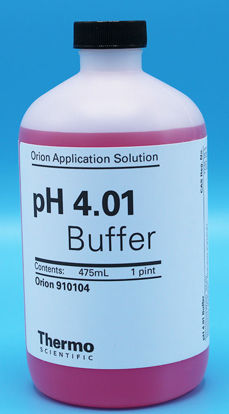 Picture of 475 ml - O-910104 - Orion pH 4.01 Buffer Solution, Pink (O910104)