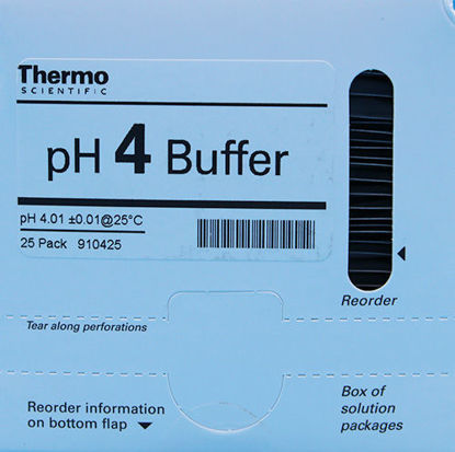 Picture of PK(25/pk) - O-910425 - pH Buffer Packets, pH 4 (O910425)
