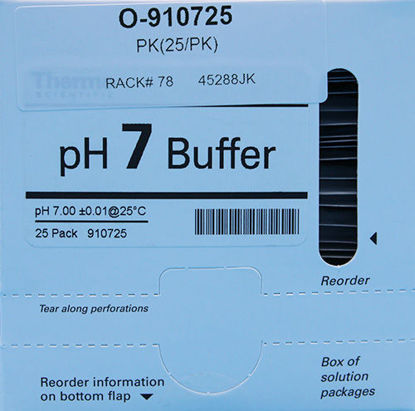 Picture of PK(25/pk) - O-910725 - pH Buffer Packets, pH 7 (O910725)