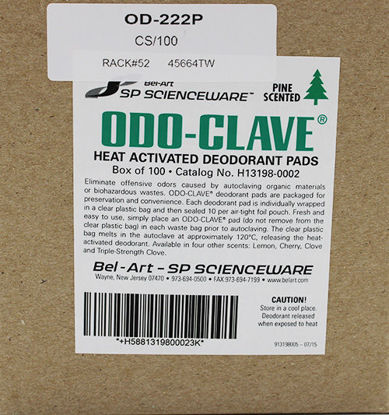 Picture of CS(100/cs) - OD-222P - Pine Deodorant Pads for Sterilizers (OD222P)