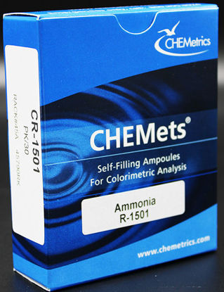 Picture of PK(30/pk) - CR-1501 - CHEMets® Ammonia Refill Ampules (CR1501)