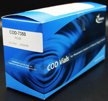 Picture of PK(25/pk) - COD-7350 - COD Vials, 0-150 ppm, 10 ppm MDL (COD7350)