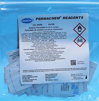 Picture of PK(100/pk) - H-984-99 - Sodium Periodate PP for Manganese and 25 ml Sample (H98499)