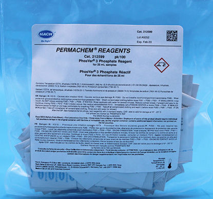 Picture of PK(100/pk) - H-2125-99 - Phosphate Reagent, PhosVer® 3, PP for 25 ml Sample (H212599)