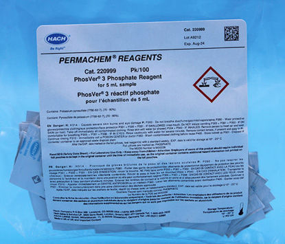 Picture of PK(100/pk) - H-2209-99 - Phosphate Reagent, PhosVer® 3, PP for 5 ml Sample (H220999)