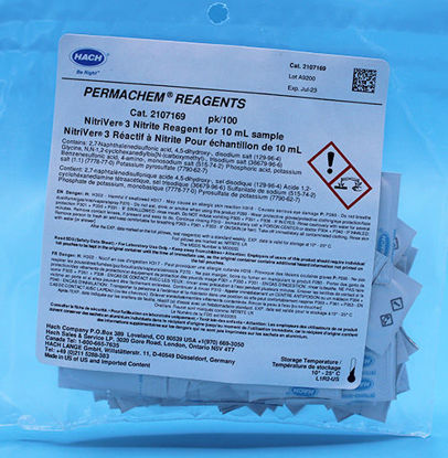 Picture of PK(100/pk) - H-21071-69 - Nitrite Reagent, NitriVer® 3, PP for 10 ml Sample (H2107169)